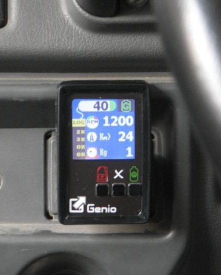 Genio Installed in Car